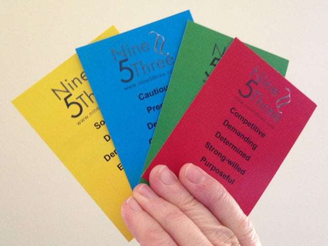 Yoo Cards - What is your personality type?