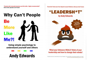 Leadersh*t    Why can't people be more like me?
